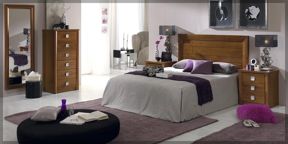 Dormitorios de madera modernos j v for Dormitorios juveniles de madera