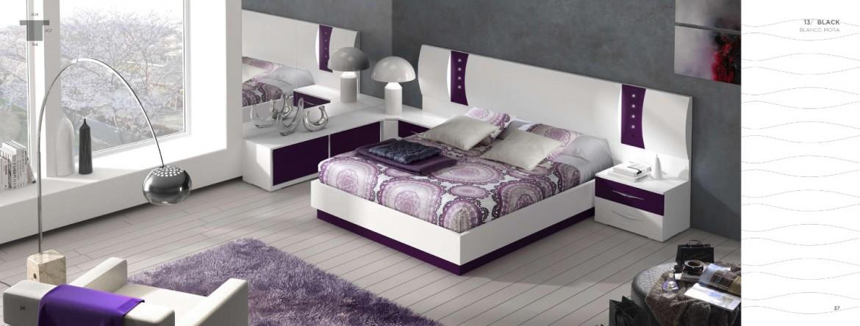 Dormitorios de matrimonio modernos muebles dominguez for Dormitorios de matrimonio modernos y baratos