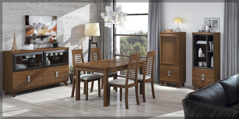Salones y comedores muebles dominguez for Comedores modernos baratos