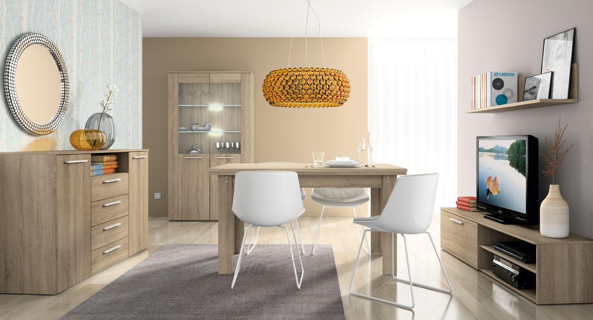 Comedores modernos y baratos muebles dominguez for Comedores economicos y bonitos