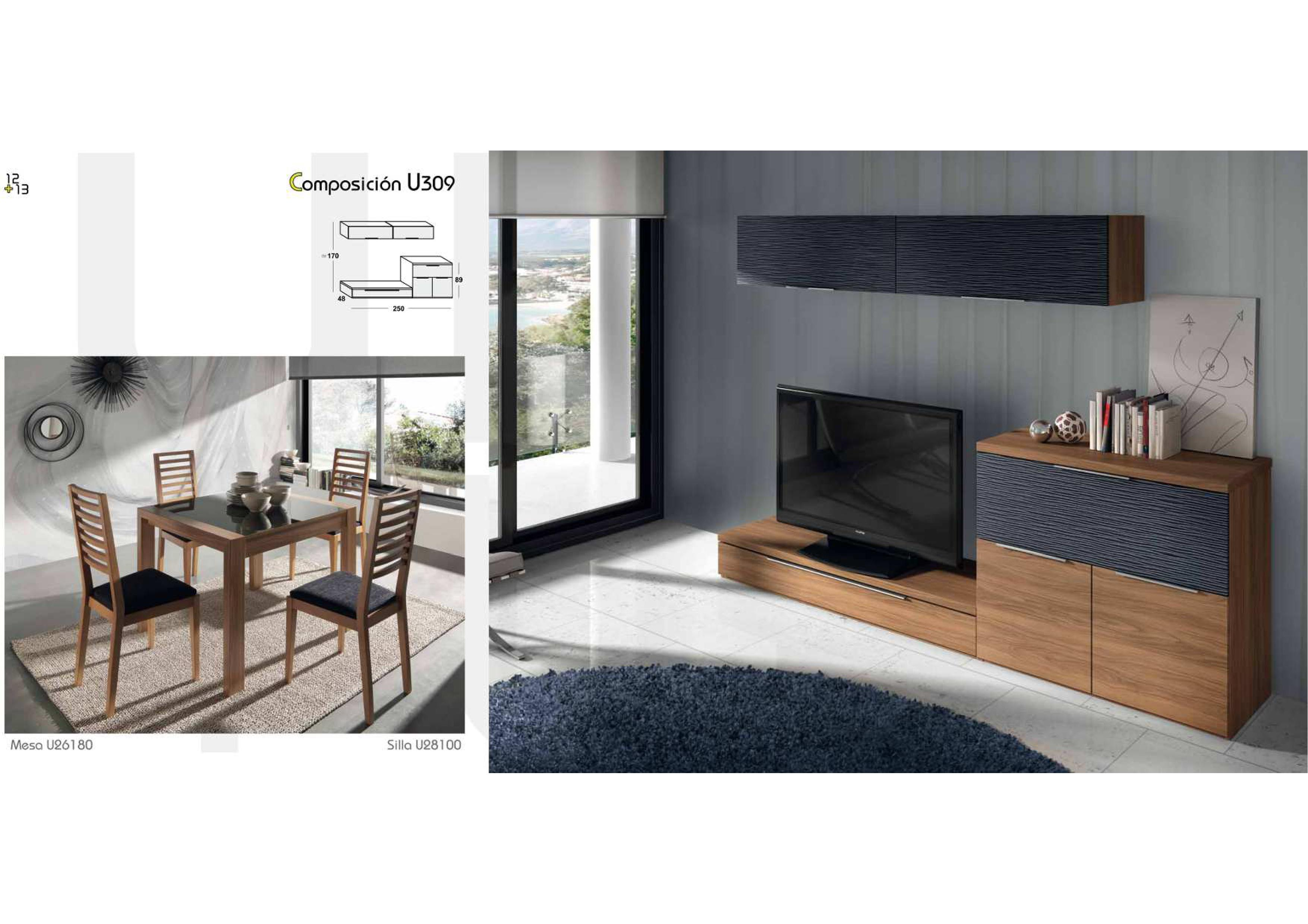 Salones y comedores modernos salcedo muebles for Comedores modernos nuevos
