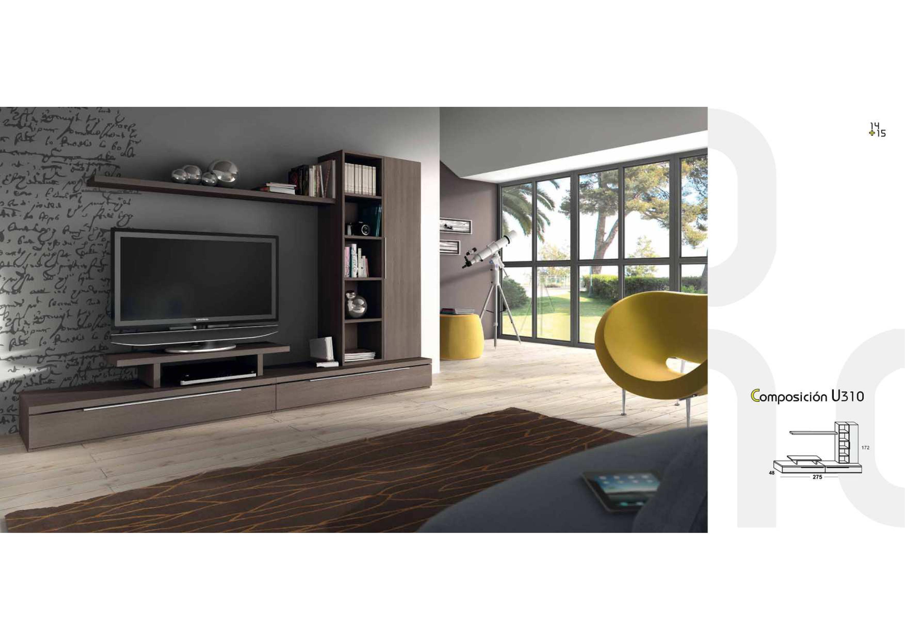 Salones y comedores modernos salcedo muebles for Precios de salones completos